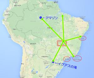 ブラジリアの時差