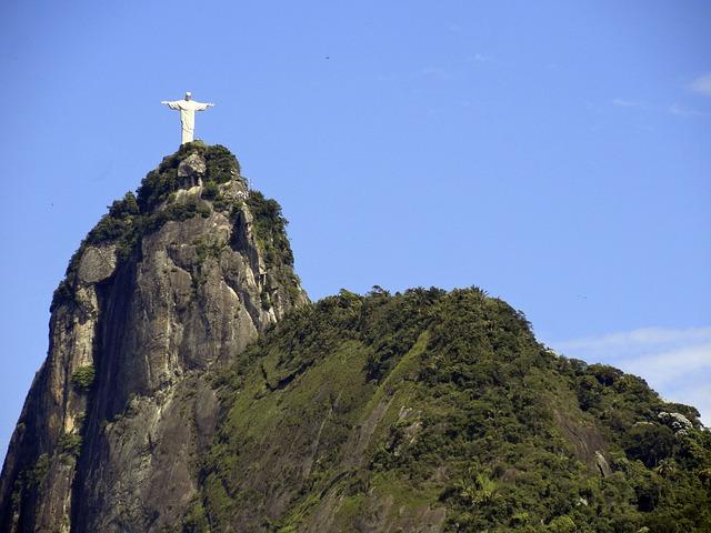 ブラジルの像