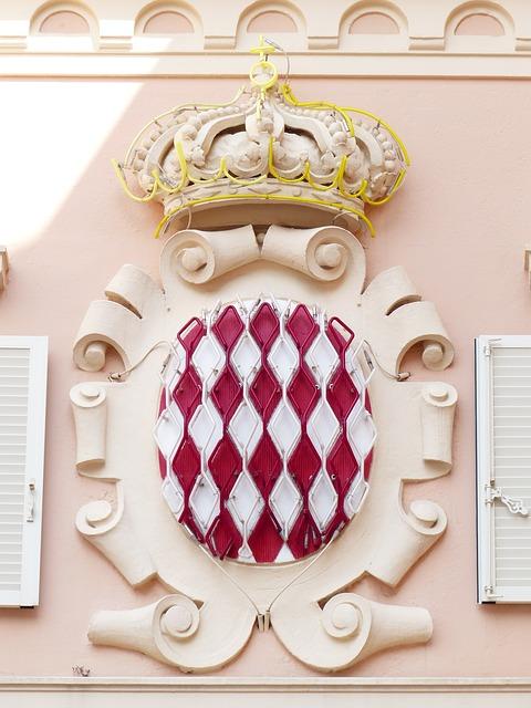 モナコ王室 紋章