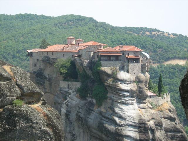 ギリシャ 修道院 半島